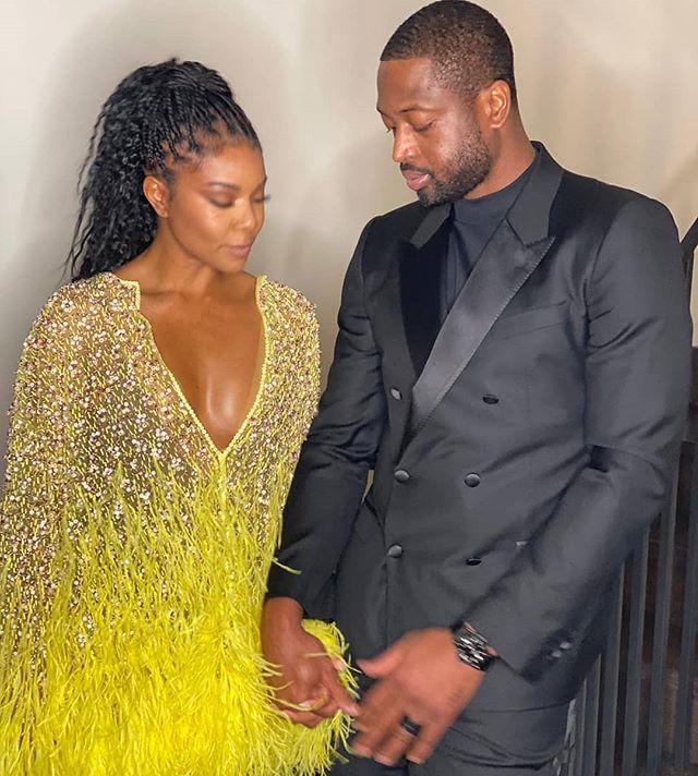 """<p>Gabrielle Union posted an image of her and Dwyane Wade holding hands with the post location set to """"In Love.""""</p><p><a href=""""https://www.instagram.com/p/B8joqQcptyz/"""">See the original post on Instagram</a></p>"""