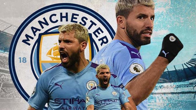 Manchester City - Sergio Aguero (Bola.com/Adreanus Titus)