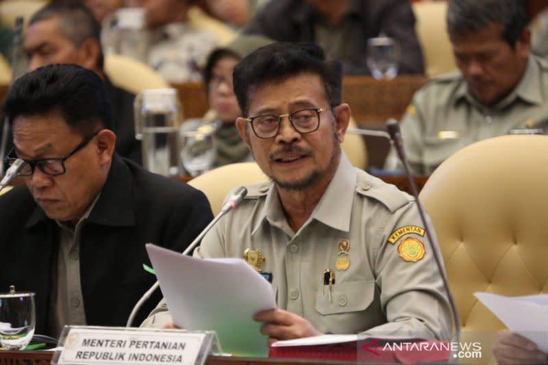 DPR setujui perubahan anggaran Kementerian Pertanian