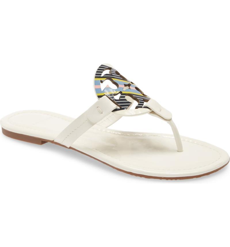 Miller Flip Flop in white.