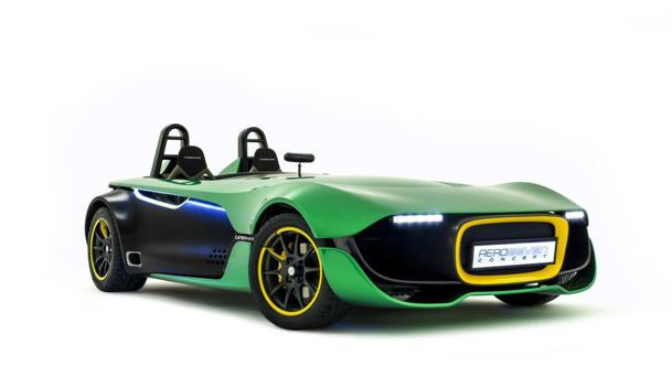 Caterham AeroSeven Concept previews a bold future