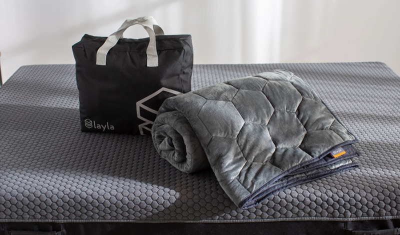 Weighted Blanket. Image via Layla.