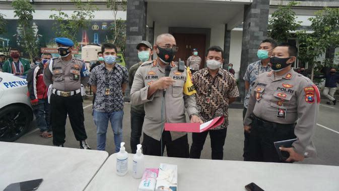 Kapolrestabes Surabaya Kombes Pol Jhonny Edison Isir. (Foto: Liputan6.com/Dian Kurniawan)