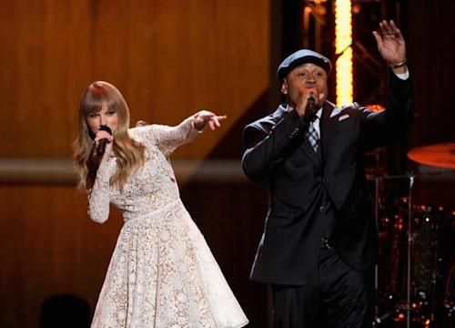 Taylor Swift '100% Sure' Her Collab With LL Cool J Won't Be Nominated At 2013 Grammys Nominees Concert