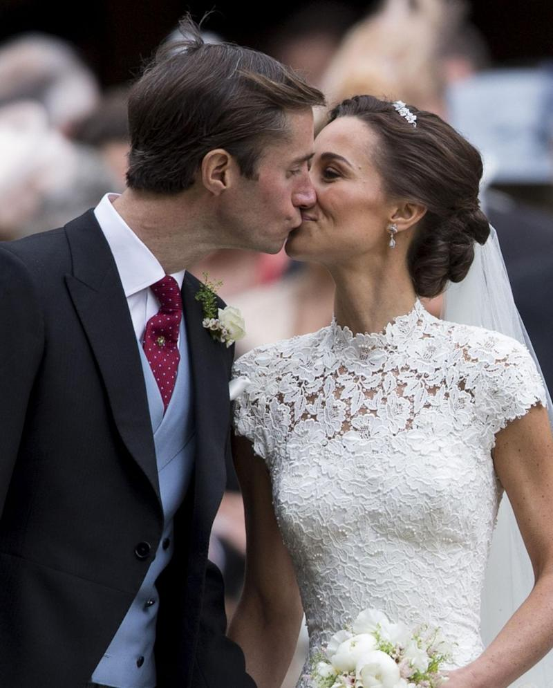 Pippa and James married in May last year. Photo: Getty