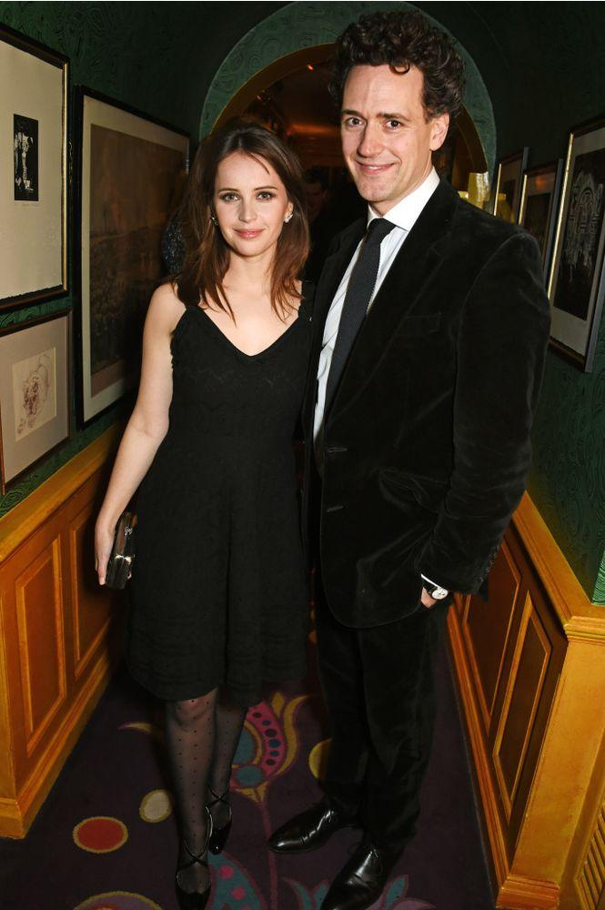 Felicity Jones and Charles Guard | Dave Benett/Getty Images