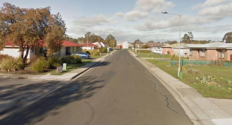 A man has died after accidentally shooting himself in the chest. He then rushed himself to his mother's home on Blyth Street, Launceston (pictured). Source: Google Maps (file pic)