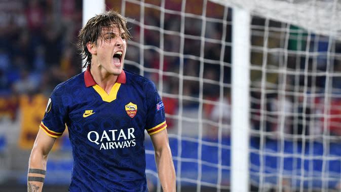 Para Pemain AS Roma Siap Latihan Lagi, Termasuk Nicolo Zaniolo