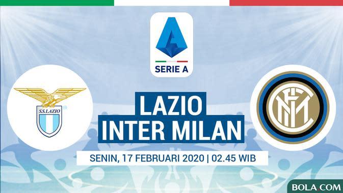 Serie A - Lazio Vs Inter Milan (Bola.com/Adreanus Titus)