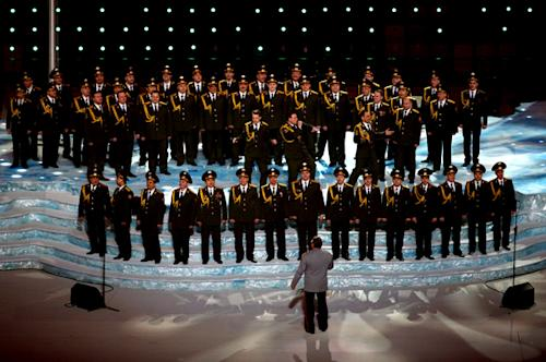 Russian Police Choir Wins Olympics With 'Get Lucky' Performance