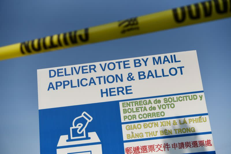 Judge puts on hold Texas' limit on drop boxes for absentee ballots