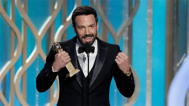 Who needs Oscar? 'Argo' man Ben Affleck takes home the Golden Globe for Best Director