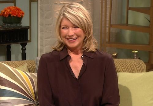 Martha Stewart stops by Access Hollywood Live on March 14,2012 -- Access Hollywood