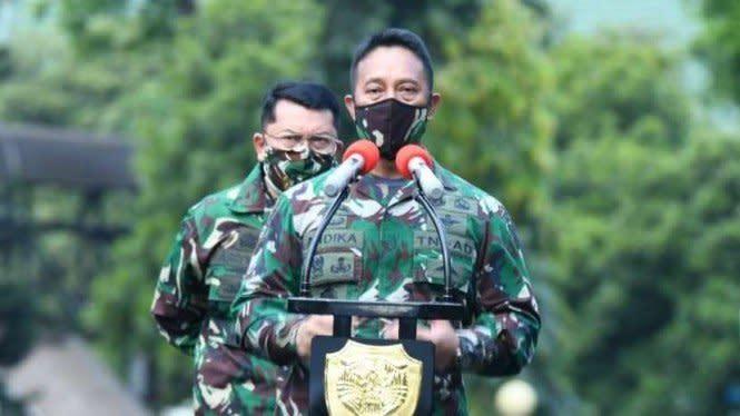 KSAD Jenderal Andika Minta Maaf, Eks Kapuspen: Posisi TNI Kurang Tepat