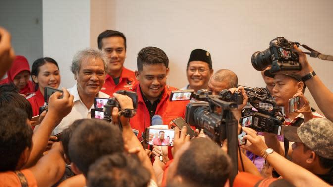 Menantu Jokowi Bobby Nasution Resmi Jadi Kader PDI Perjuangan