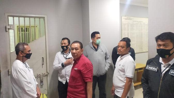 Penampakan terpidana kasus hak tagih Bank Bali, Djoko Tjandra di Rumah Tahanan Bareskrim Polri. (Ist)
