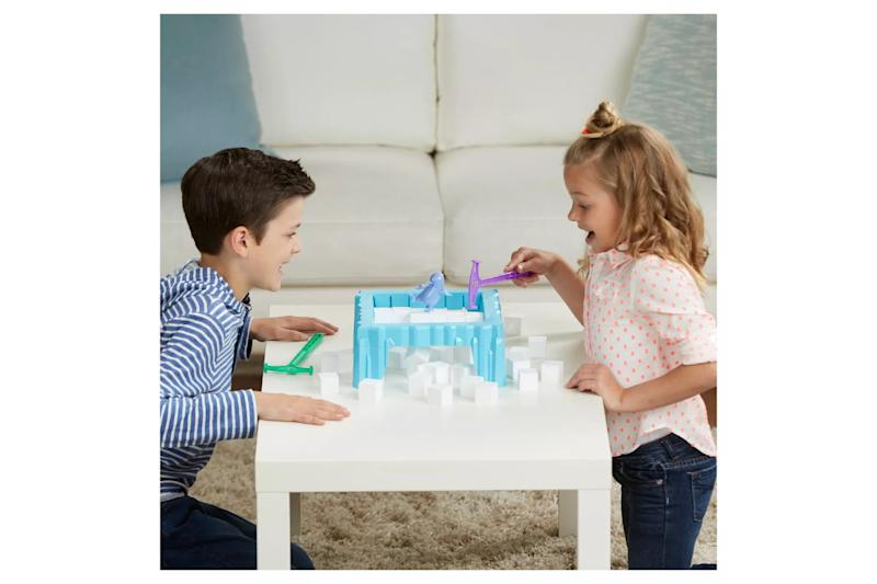 kids playing don't break the ice