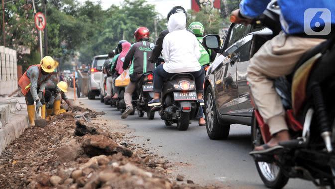 Dinas Bina Marga DKI Jakarta: Pengamanan Proyek Revitalisasi Jalan Sesuai SOP