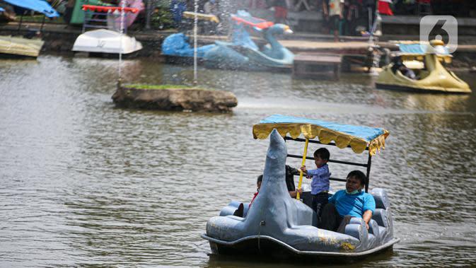 2 Hari Jelang PSBB Total Jakarta, TMII Dikunjungi 3.000 Lebih Wisatawan