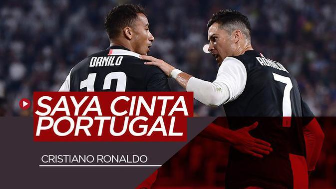 VIDEO: Dianggap Lebih Sukses Jika Membela Timnas Brasil, Inilah Jawaban Cristiano Ronaldo