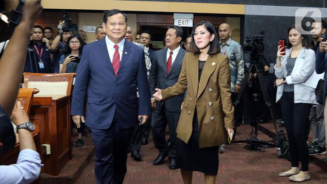 Tanggapi Omnibus Law, Prabowo: Pemerintah Ingin Atasi Masalah Ekonomi