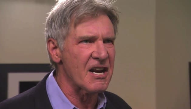 "Harrison Ford Will See That 'Wookiee Sack of S#@!' Chewbacca ""In Hell!"""