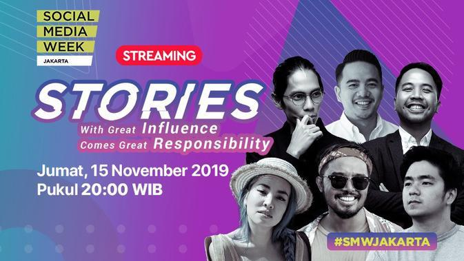 Saksikan Delay Streaming Social Media Week 2019 Jumat, 15 November 2019