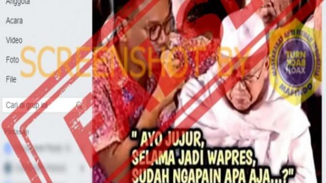 Cek Fakta: Uya Kuya Hipnotis Wapres Ma'ruf Amin, Minta Bela Umat Islam