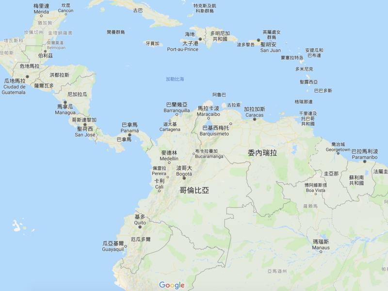 委內瑞拉在哪裡?