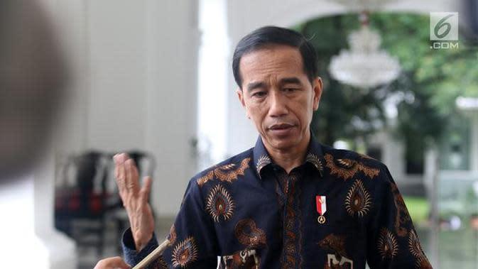 Foto Presiden Joko Widodo Credit: Liputan6.com/Angga Yuniar