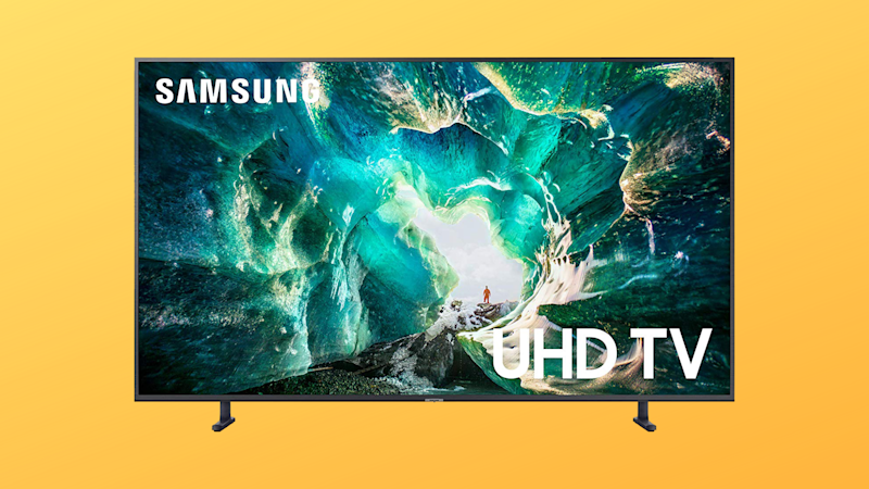 Save $452 on this 55-inch 4K UHD TV from Samsung. (Photo: Amazon/Yahoo Lifestyle)
