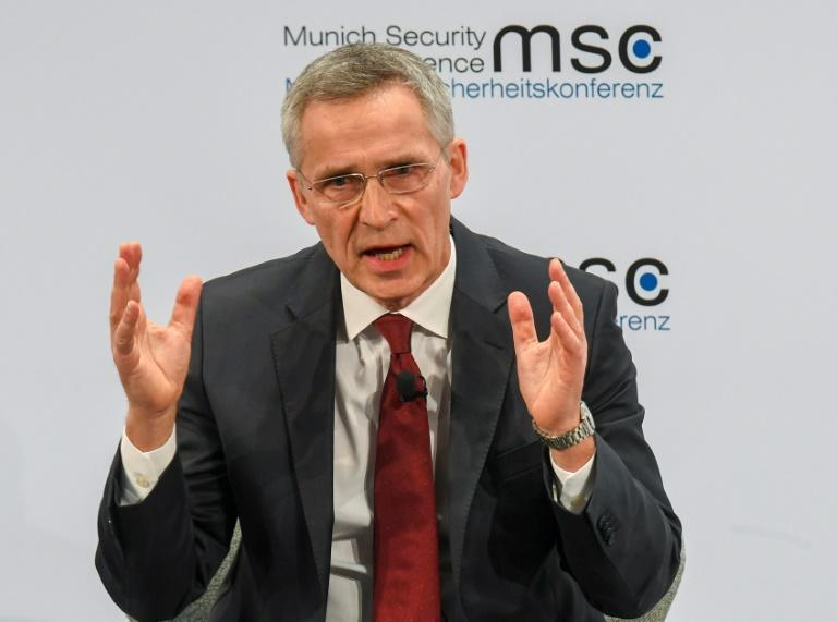 NATO Secretary General Jens Stoltenberg used the Munich gathering to issue a warning about the threat posed by Chinese involvement in Western infrastructure