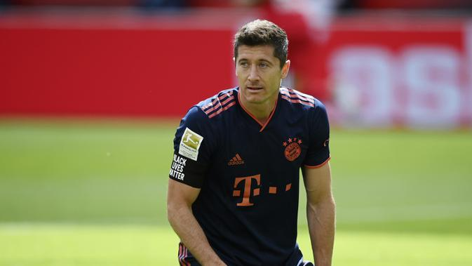 Robert Lewandowski. (AFP/Matthias Hangst/pool)