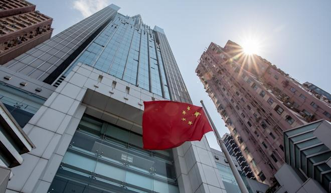 Beijing's Hong Kong liaison office has been at the centre of controversy this month after condemning opposition lawmakers it said were holding up Legco businesses with filibustering tactics. Photo: Bloomberg