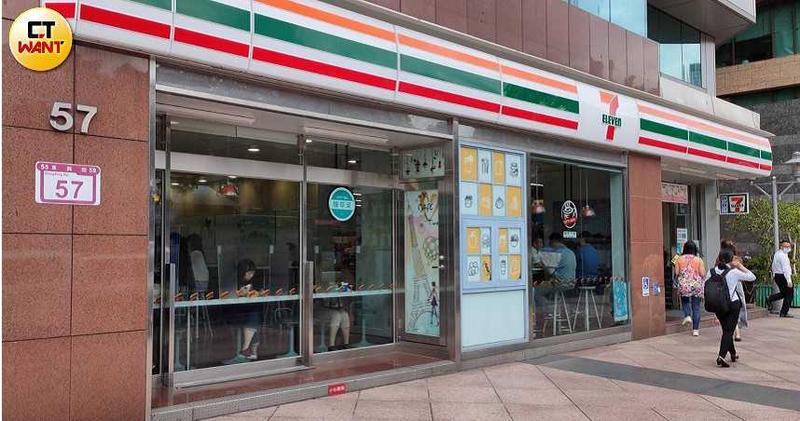 今年第1季台灣便利商店業營業額847億元,不僅是歷年同期新高,更超越百貨公司業營業額的793億元,成為最強通路。(圖/胡華勝攝)