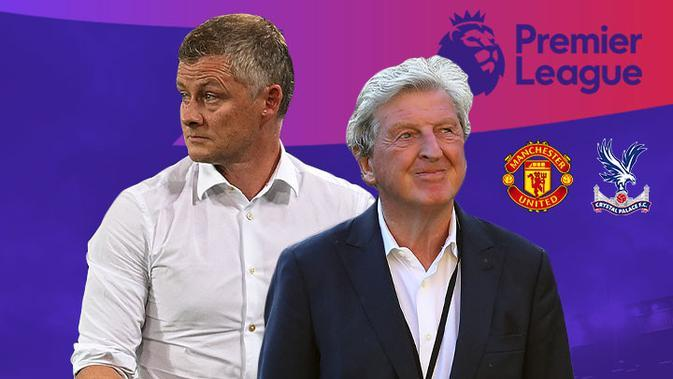 Premier League - Manchester United Vs Crystal Palace - Head to Head Pelatih (Bola.com/Adreanus Titus)