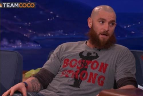 Red Sox Player Jonny Gomes Tells Conan Everyone in Boston Deserves a World Series Ring