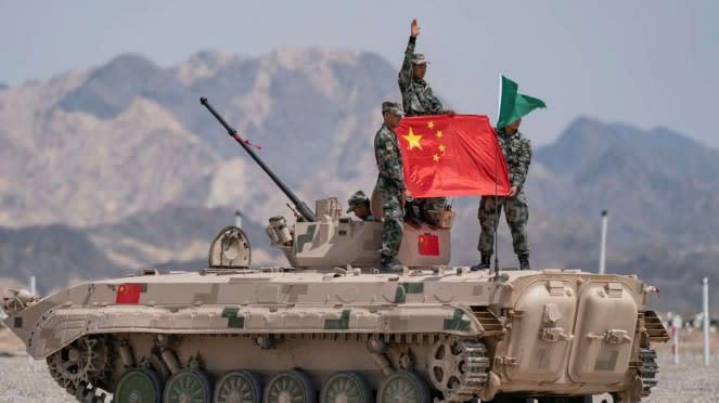 VIVA Militer: Tentara China
