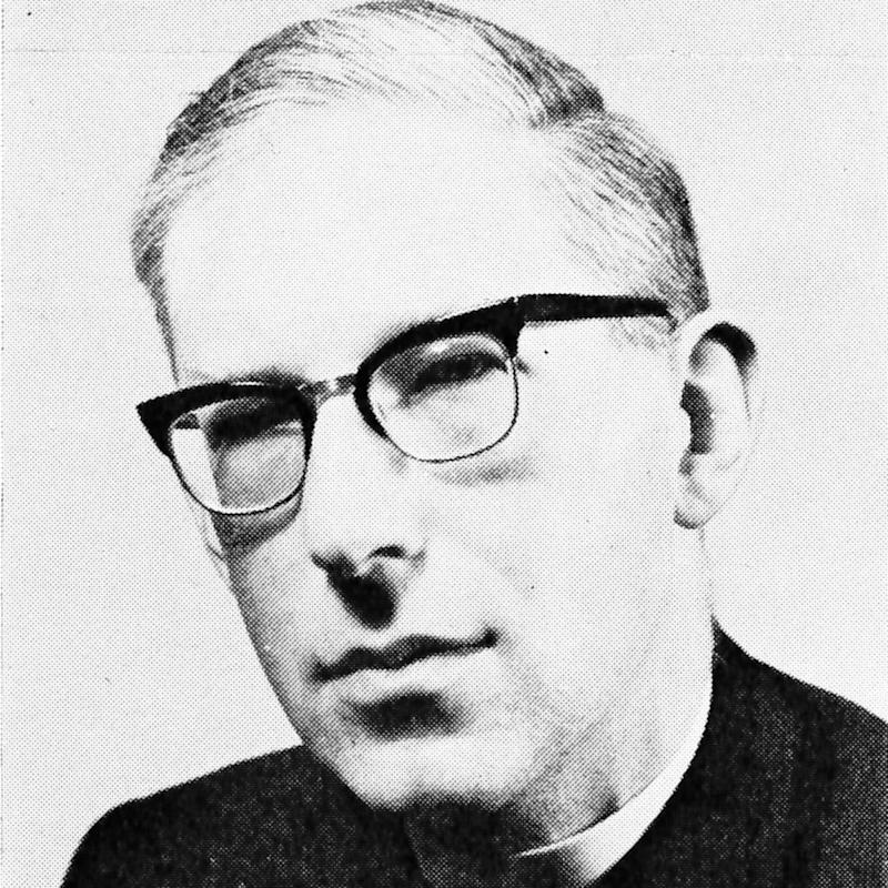 J I Packer in a photo from the official congress brochure of the first National Evangelical Anglican Congress, held at Keele University, Staffordshire, in 1967