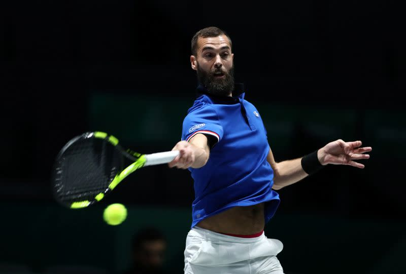 Tennis-Paire tests positive for COVID-19 before US Open: L'Equipe