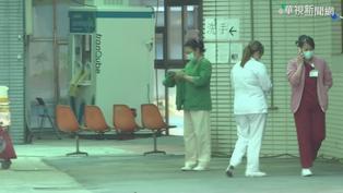 和平醫院爆2人確診 周邊街道幾乎淨空