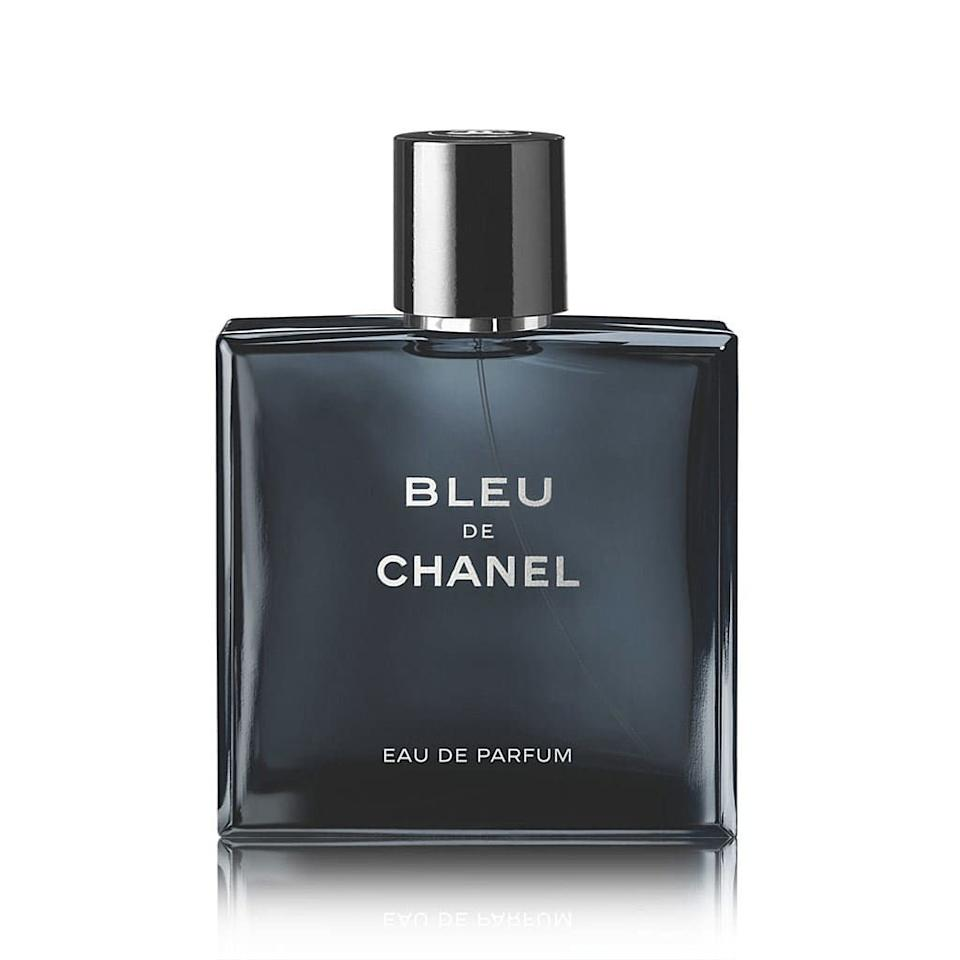 """<p><strong>CHANEL</strong></p><p>sephora.com</p><p><strong>$95.00</strong></p><p><a href=""""https://go.redirectingat.com?id=74968X1596630&url=https%3A%2F%2Fwww.sephora.com%2Fproduct%2Fbleu-de-chanel-eau-de-parfum-P394949&sref=https%3A%2F%2Fwww.menshealth.com%2Fgrooming%2Fg27593822%2Fbest-summer-cologne-mens-fragrance%2F"""" target=""""_blank"""">BUY IT HERE</a></p><p>Bleu de Chanel is the scent of a gentleman. It's crisp, refined, and elegant, but not like an old person. It doesn't rely on musk the way some more traditional """"gentleman"""" colognes do and instead uses top notes of citrus and mint to bring a burst of freshness layered with woody green notes.</p>"""