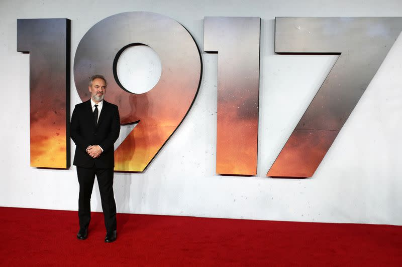Inspired by grandfather, 'Bond' director Mendes returns with tense war film '1917'