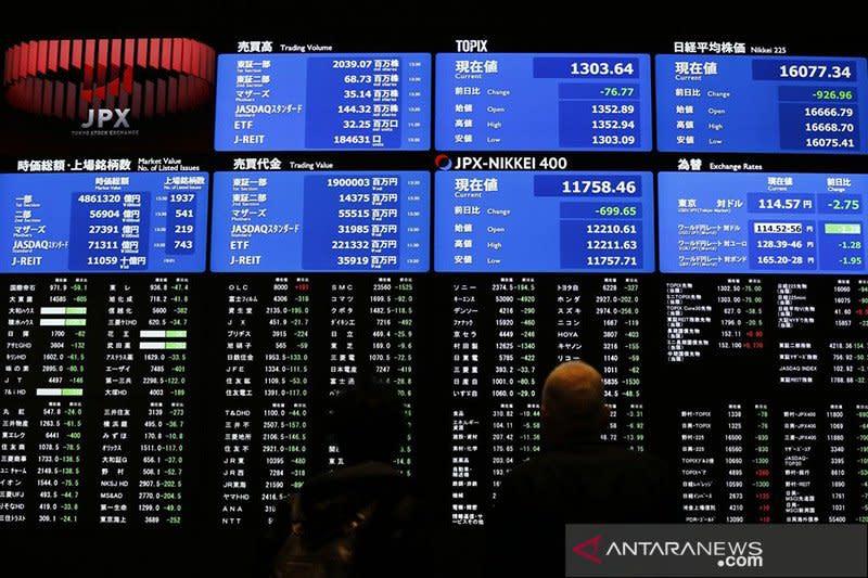 Saham Tokyo cenderung datar, Indeks Nikkei turun 0,04 persen