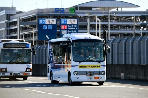 A driverless bus was recently tested at Tokyo's Haneda Airport and some driverless taxi services aim to be fully functional in time for the 2020 Olympics