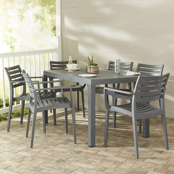 """<p><strong>Mercury Row</strong></p><p>wayfair.com</p><p><a href=""""https://go.redirectingat.com?id=74968X1596630&url=https%3A%2F%2Fwww.wayfair.com%2Foutdoor%2Fpdp%2Fmercury-row-melissus-7-piece-dining-set-w001566151.html&sref=https%3A%2F%2Fwww.bestproducts.com%2Fhome%2Fg32613722%2Fwayfair-memorial-day-clearance-sale%2F"""" target=""""_blank"""">Shop Now</a></p><p><del>$1,580</del><strong><br>$719.99</strong><strong><br></strong></p><p>If you want to take your dinner al fresco up a couple of notches, this modern set from Mercury Row will deliver. </p>"""