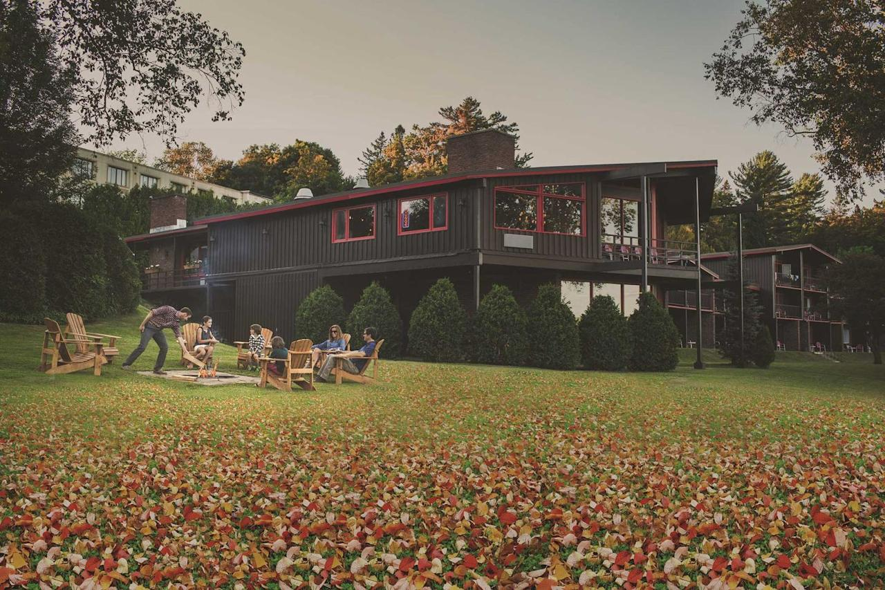 """<p>Autumn is always a great time to visit the Adirondacks in upstate New York, so this year why not work from there, too? </p><p><a href=""""https://go.redirectingat.com?id=74968X1596630&url=https%3A%2F%2Fwww.tripadvisor.com%2FHotel_Review-g48023-d1103360-Reviews-High_Peaks_Resort-Lake_Placid_New_York.html&sref=https%3A%2F%2Fwww.bestproducts.com%2Flifestyle%2Fg34125319%2Fwork-from-home-friendly-hotels%2F"""" target=""""_blank"""">High Peaks Resort</a> in the heart of Lake Placid offers plenty of space to study, work, and get out of each other's hair. The resort has three different lodging experiences overlooking Mirror Lake and the Adirondack Mountains: The Resort, a traditional hotel, The Lake House, a camp-retro lodge, and the upscale Waterfront Collection. </p><p>For those longing to avoid distractions to get their work done, heading upstate to the <a href=""""https://go.redirectingat.com?id=74968X1596630&url=https%3A%2F%2Fwww.tripadvisor.com%2FHotel_Review-g48023-d1103360-Reviews-High_Peaks_Resort-Lake_Placid_New_York.html&sref=https%3A%2F%2Fwww.bestproducts.com%2Flifestyle%2Fg34125319%2Fwork-from-home-friendly-hotels%2F"""" target=""""_blank"""">High Peaks Resort</a> is the place to be where you'll find plenty of amenities to help you get everything done.</p><p>Home to the Winter Olympic Games in 1980, there's plenty to explore with kids, too, for a well-rounded home-learning experience. </p><p><strong>More:</strong> <a href=""""https://www.bestproducts.com/lifestyle/g30392222/top-travel-essentials/"""" target=""""_blank"""">All the Travel Essentials You Need for a Successful Trip</a></p>"""