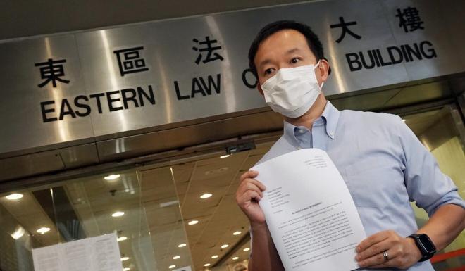 Lawmaker Raymond Chan has mounted a rare private prosecution against a pro-establishment colleague over an alleged assault in Hong Kong's Legislative Council. Photo: Felix Wong