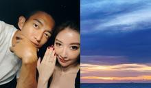 王家梁、許維恩原訂520登記結婚! 超浪漫海邊求婚過程曝光