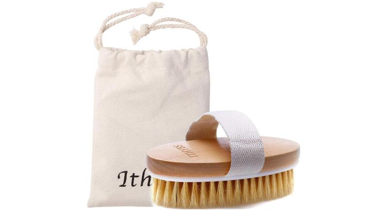 Ithyes Dry Brushing Body Brush Exfoliating Brush